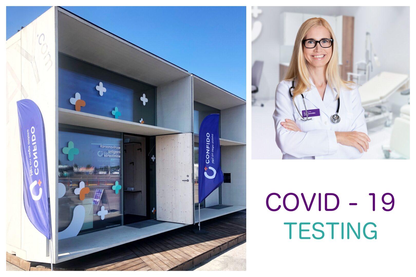 Covid testing in KODA