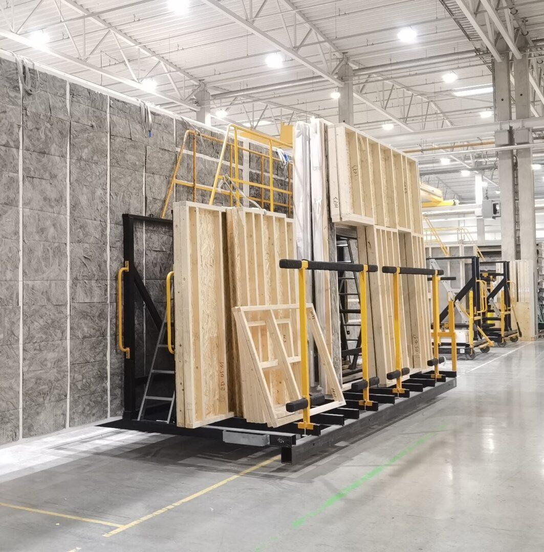 KODAs in production at Harmet factory